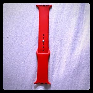 Accessories - Red apple iWatch band